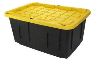 Centrex Plastics LLC Commander 27-Gallon Tote with Standard Snap Lid