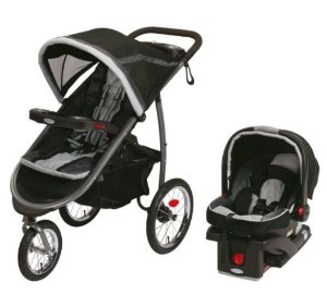 $194.99Graco Fastaction Fold Jogger Click Connect Travel System, Gotham 2015