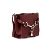 Alexander Wang Attica Mini Chain Shoulder Bag, Beet