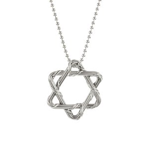 Signature Classic Star of David in sterling silver