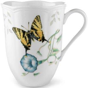 Butterfly Meadow Tiger Swallowtail Mug by Lenox