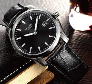 Citizen Eco-Drive Men's AU1040-08E Stainless Steel Watch