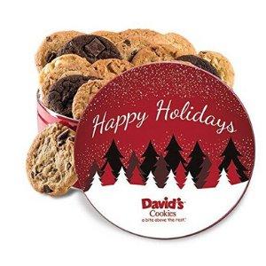 David's Cookies Fresh baked cookies Gift Tins