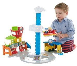 Fisher-Price Little People 声效机场玩具套装热卖