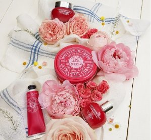 Up to $20 Gift Card + 3 Free SamplesSitewide @ L'Occitane