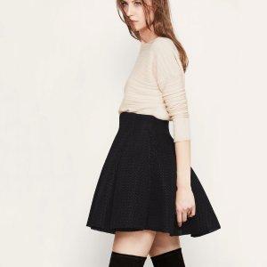 JAKE Short skirt in basketweave knit