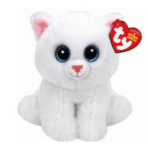 TY Beanie Baby Medium Pearl the Cat Plush Toy | Claire's
