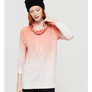 Lou & Grey Ombre Signaturesoft Drawstring Tunic