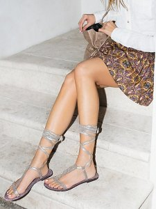 $50.98 Free People 'Dahlia' Tall Gladiator Sandal On Sale @ Nordstrom