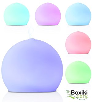 Premium Frosted Glass Aroma Diffuser Ultrasonic Ionizer Cool Mist Essential Oil Humidifier