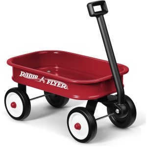 Radio Flyer Kids Little Red Toy Wagon
