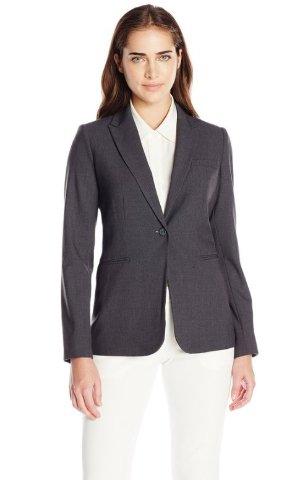 $33.41 Calvin Klein Women's Single-Button Suit Jacket