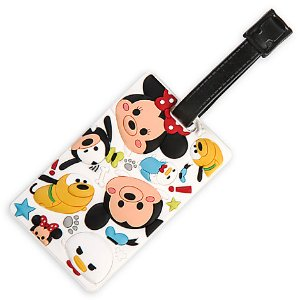 Mickey Mouse and Friends ''Tsum Tsum'' Luggage Tag | Disney Store