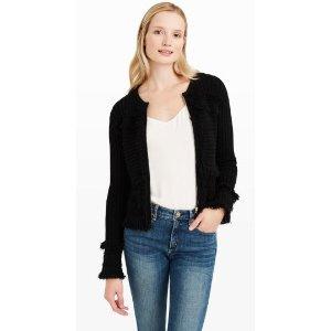 Jolana Fringe Sweater Jacket