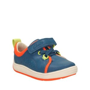 Maxi Tay First Teal Leather - Shoes for Boys - Clarks® Shoes Official Site