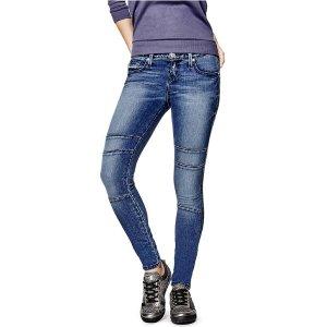 Jadelle Moto Super-Skinny Jeans | GuessFactory.com