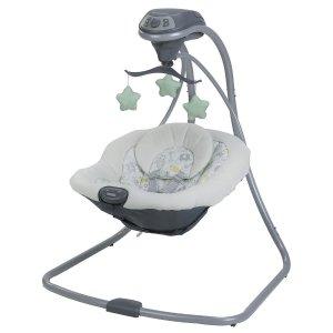 Graco Simple Sway Swing - Sketch Safari - Graco - Babies