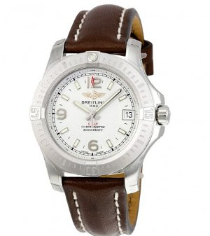 BREITLING Colt 36 Silver Dial Ladies Watch