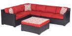 $1399 Hanover METRO5PC-B-BRY Metropolitan 5 Piece Lounge Set