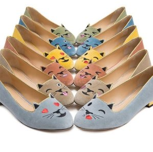 From $525 New Emoticats Shoes