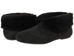 $65(原价$130)+免邮!反季屯UGG麂皮羊毛踝靴2色热卖