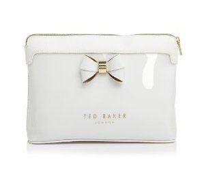 $27.44 Ted Baker Extra Large Layered Bow Cosmetic Case @ Bloomingdales