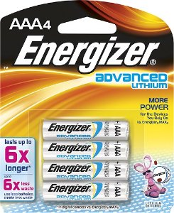 Energizer - Advanced Lithium AAA Batteries (4-Pack)