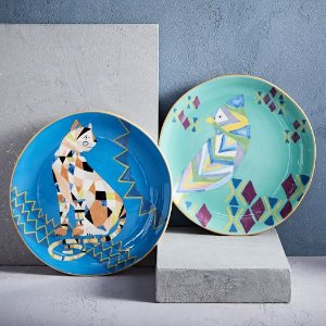 Deco Animal Salad Plates | west elm