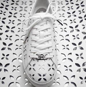 $81(Org. $135) MICHAEL MICHAEL KORS  Keaton Perforated-Leather Sneaker @ Michael Kors