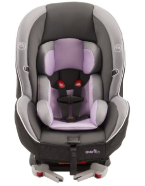 Evenflo Momentum DLX Convertible Car Seat, Lilac