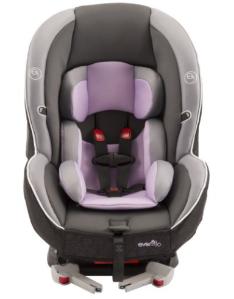 Evenflo Momentum DLX Convertible Car Seat, Lilac