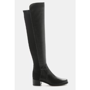 STUART WEITZMAN RESERVE LEATHER OVER-THE-KNEE BOOT