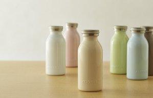 可直邮!$19/ RMB129超可爱 马卡龙色系 DOSHISHA MOSH 牛奶杯保温杯 350ml 特价