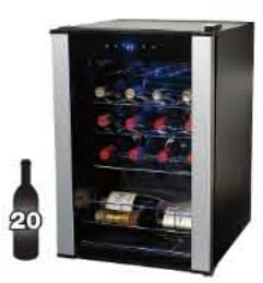 2016 Black Friday! $40 off 20-Bottle Evolution Series Wine Refrigerator