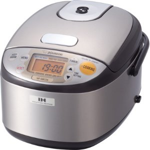 Zojirushi 3-Cup Stainless Induction Heating System Rice Cooker and Warmer & Reviews | Wayfair