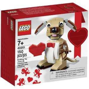 $9.99LEGO Bricks & More Valentines Cupid Dog 40201 Building Kit