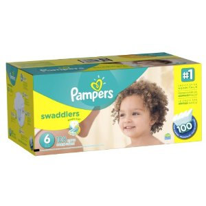 Amazon.com: Pampers Swaddlers Diaper Size 6 Economy Pack Plus 100 Count (Packaging May Vary): Health & Personal Care