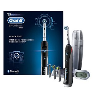 Oral-B Smart Series 6500 Electric Rechargeable Toothbrush Powered by Braun