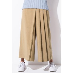 FRS Beige Pleated Culottes