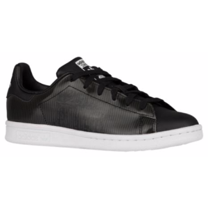 adidas Originals Stan Smith - Boys' Grade School - Casual - Shoes - Black/Black/White