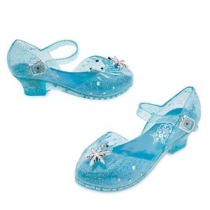 Elsa Light-Up Costume Shoes for Kids | Disney Store