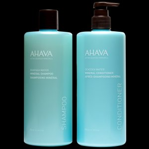AHAVA® - Mineral Shampoo & Conditioner Duo (46% More)