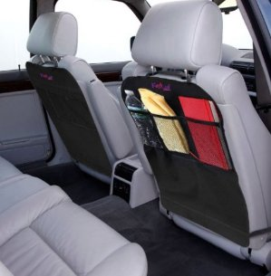 $8.99 Kick Mats, KidLuf Car Kick Mats with Organizer