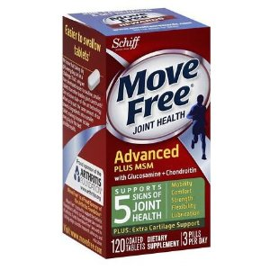 Schiff Move Free Bone & Joint Supplement, Glucosamine Chondroitin + MSM