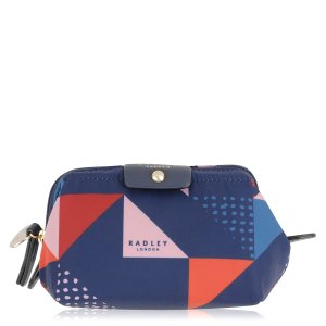 Triagonal Nylon Small Zip Cosmetic Case > Buy Cosmetic Cases Online at Radley