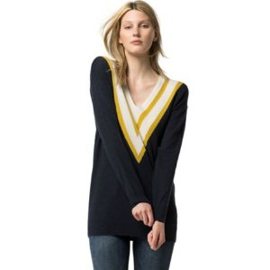 Wool Cashmere Cricket Sweater