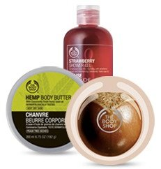 40% Off+Free Shipping Bath & Body @ The Body Shop