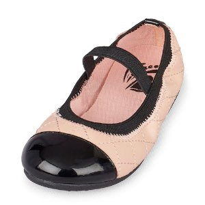 Toddler Girls Quilted Kayla Ballet Flat   The Children's Place