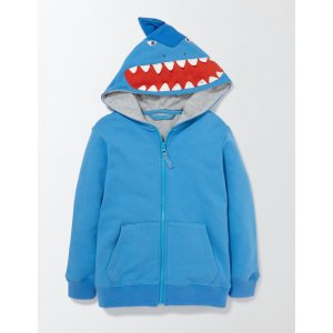 Novelty Zip-through Hoodie 23062 Clothing at Boden