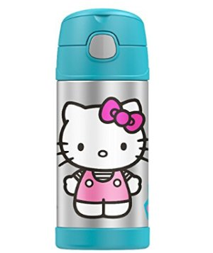 $17.99 Thermos Funtainer 12 Ounce Bottle Hello Kitty